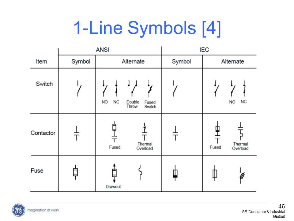 1-Line Symbols [4] 46 GE Consumer & Industrial Multilin